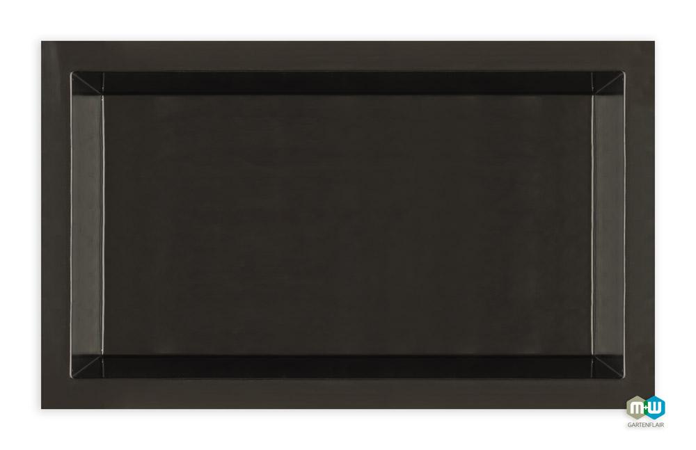 gfk teichbecken rechteckig 1900 liter m w gartenflair. Black Bedroom Furniture Sets. Home Design Ideas